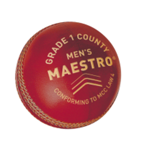GM Maestro Red Cricket Ball