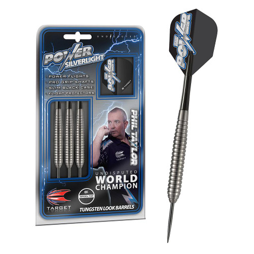 Target Phil Taylor Powe Silverlight Darts