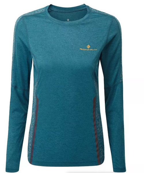 Ronhill Womans Life Night Runner L/S Tee