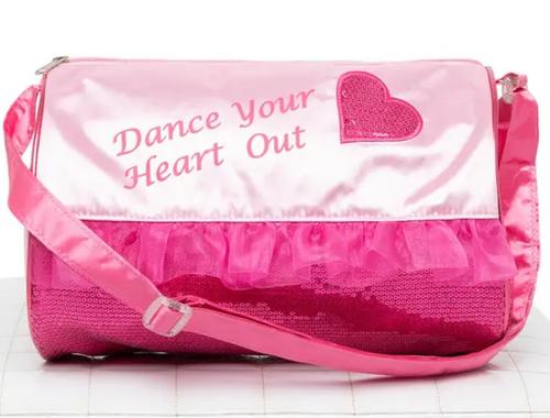 Capezio Heart Barrel Dance Bag