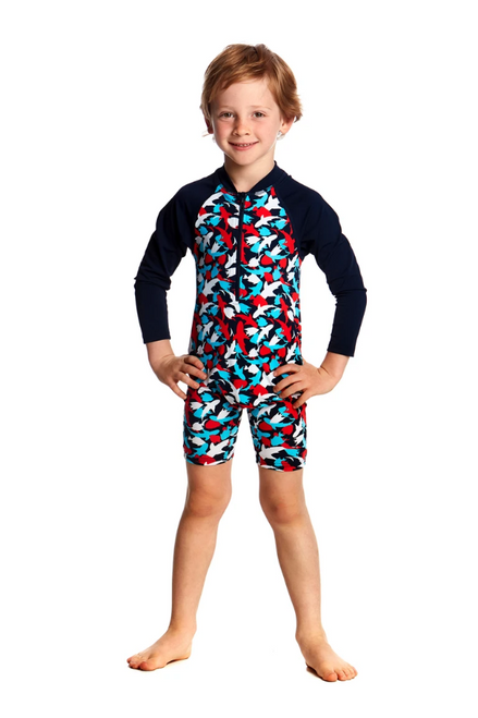 FTS005T Toddler Boys Go Jump Suit