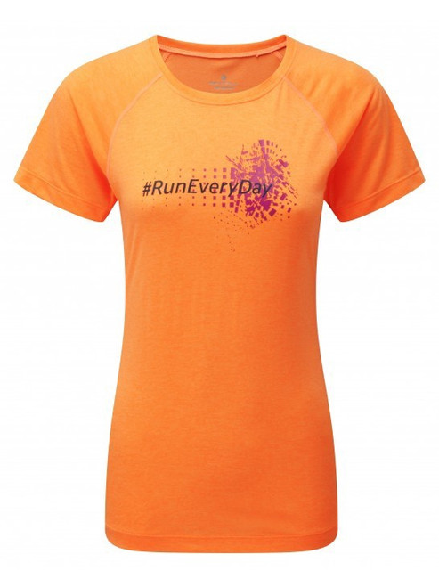 Ronhill Woman's stride graphic tee