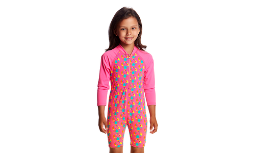 FKS005T Toddler Girls Go Jump Suit
