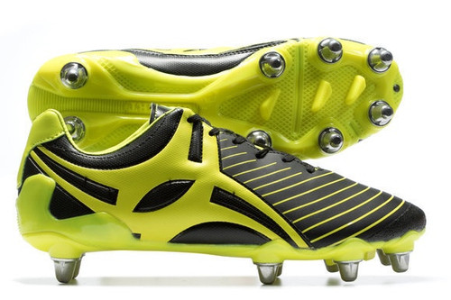 Gilbert Evolution Mark2 Rugby Boots Neon Yellow