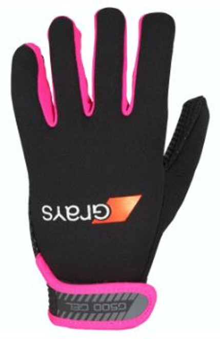 The G500 Gel glove contains a unique gel padding that insulates and absorbs impact. With a soft feel thermal neoprene outer layer that helps keep hands warm. The Climagrip palm offers grip in all conditions as well as breathability.