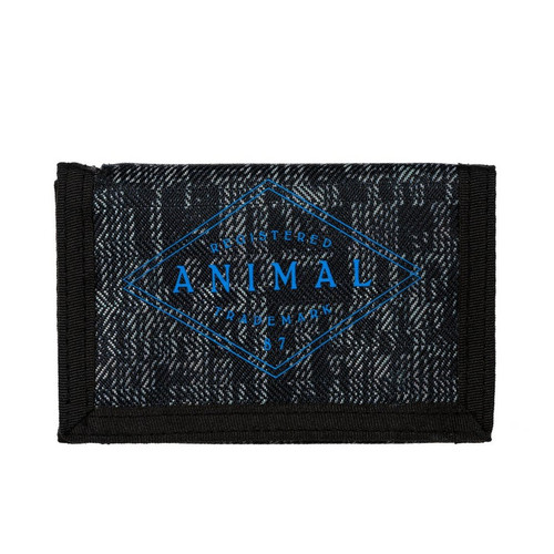 Animal Blue Print Wallet