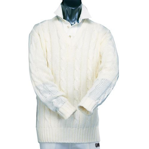 GM Cable Cricket Sweater Mens