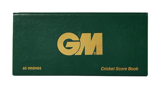 GM 60 Innings Cricket Score Book
