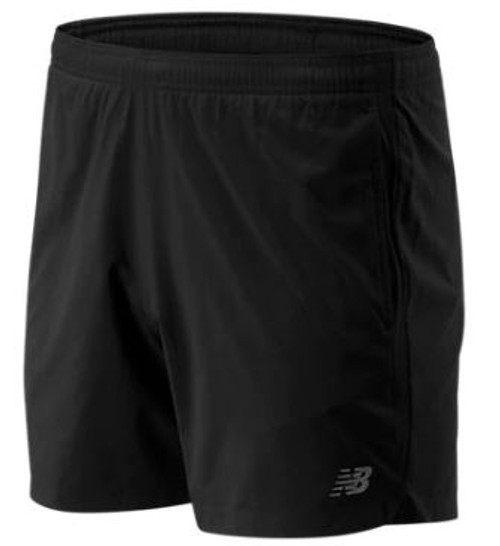 "New Balance Accelerate 5"" Mens Shorts"