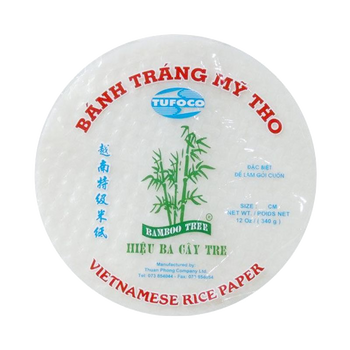 BAMBOO TREE RICE PAPER 22CM/340G