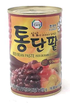 SURASANG CANNED RED BEAN&CHESTNUT 470G
