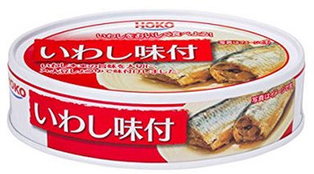 HOKO SEASONED SARDINE 100G
