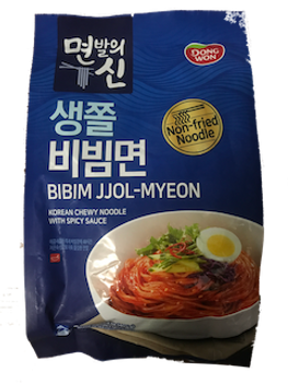 DONG WON SPICY CHEWING NOODLE 405G