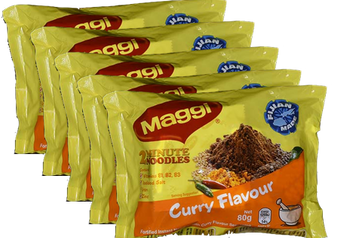 MAGGI NOODLE-SPICY CURRY 5PK