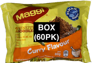 MAGGI NOODLE-SPICY CURRY 80G BOX(60)