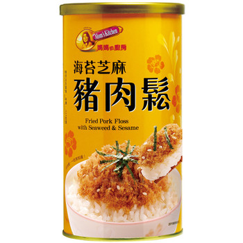 MOM'S KITCHEN PORK FLOSS WITH SEAWEED AND SESAME 200G