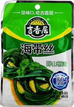 JXJ WILD PEPPER HOT KELP 88G
