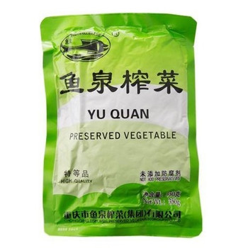 YUQUAN PRESERVED VEGETABLE 350G