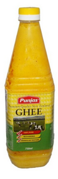 PUNJAS NEW ZEALAND GHEE 750ML