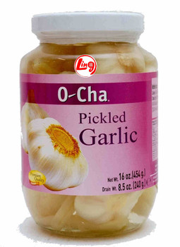 O-CHA PICKLED GARLIC 454G