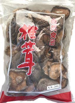 NATURAL FOOD DRIED MUSHROOM 200G