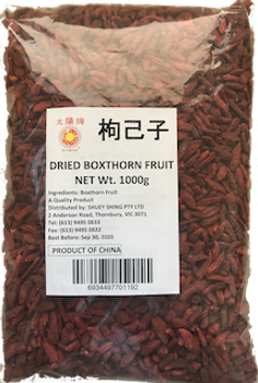 SUN CHINA GOJI BERRY 1K