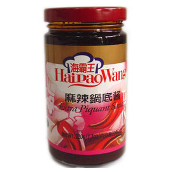 HAIPAOWANG EXTRA HOT POT PASTE 380G
