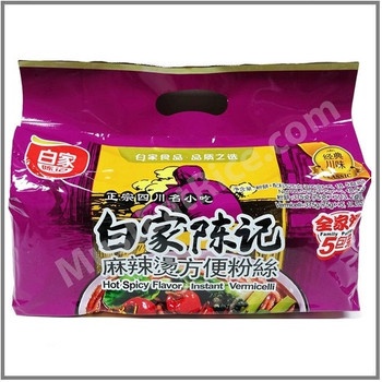 BEIJIA Hot&Spicy Flavour Instant Vermicelli 5PK