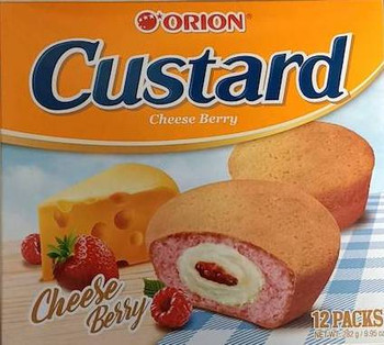 ORI CUSTARD CHEESE BERRY PIE 12P