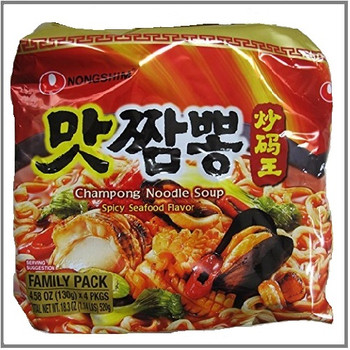 NONGSHIM Matchampong Spicy Seafood Flavour 4PK