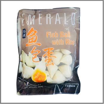 EMERALD Fish Ball with Roe Filling 500g