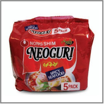 NONGSHIM NEOGURI Spicy Seafood noodle 5PK