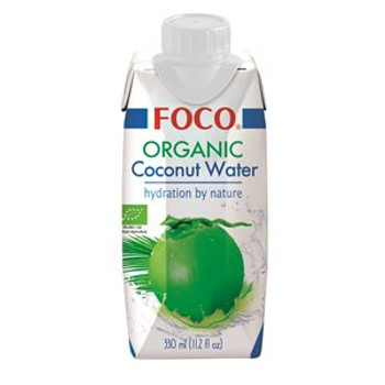 FOCO ORGANIC COCONUT WATER 500ML