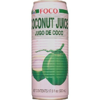 FOCO CAN COCONUT JUICE  520ML