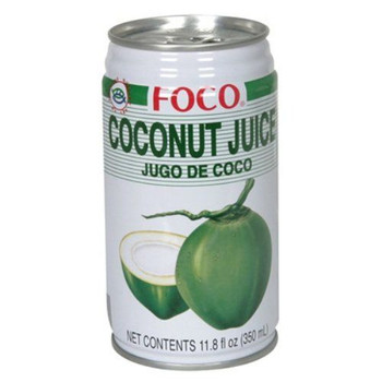 FOCO CAN COCONUT JUICE 350ML