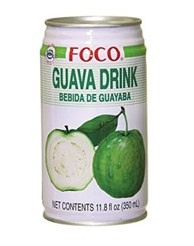 FOCO CAN GUAVA JUICE 350ML
