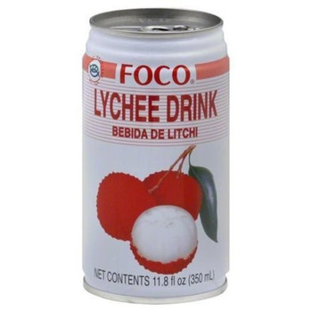 FOCO CAN LYCHEE JUICE 350ML