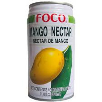 FOCO CAN MANGO JUICE 350ML