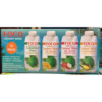 FOCO COCONUT VARIETY 12PACK 330ML