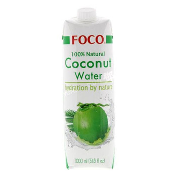 FOCO UHT COCONUT WATER 1L
