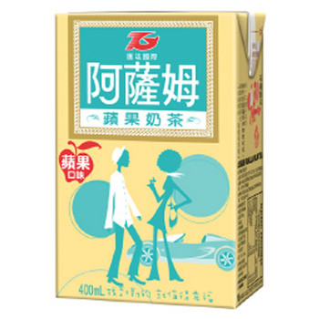 ASSAM APPLE MILK TEA 400ML