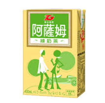 ASSAM GREEN MILK TEA 400ML