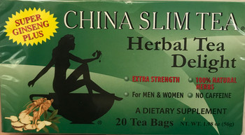 CHINA SLIM TEA/GINSENG 20TB
