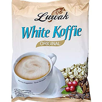 LUWAK WHITE COFFEE 18 SACHET