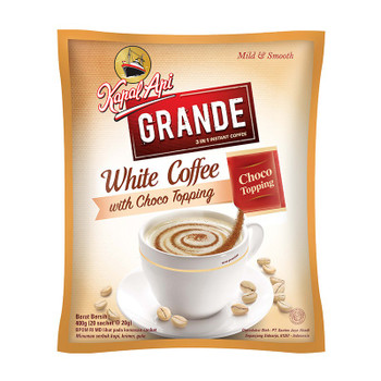 KAPAL API GRANDE WHITE COFFEE 20S