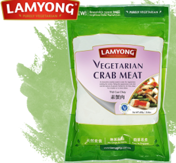 LY VEGETARIAN CRAB MEAT 600G