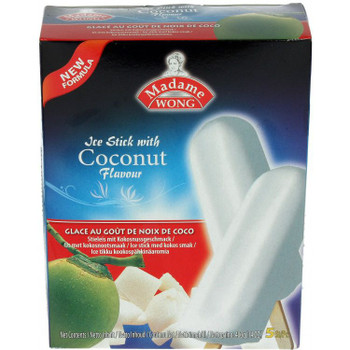 MADAME WONG ICE BAR COCONUT 5PC BOX