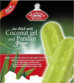 MADAME WONG ICE BAR COCO PANDAN 5PC BOX