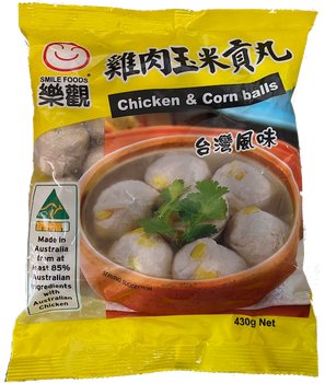 SMILE FOODS CHICKEN BALLS 430G