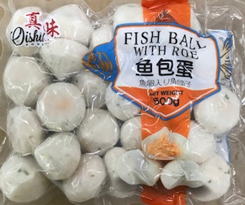 THAI FISH BALL WITH ROE 500G